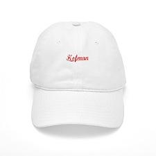 Hofman, Vintage Red Baseball Cap