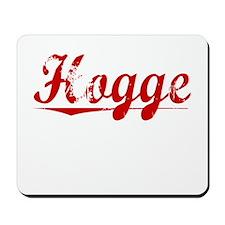 Hogge, Vintage Red Mousepad