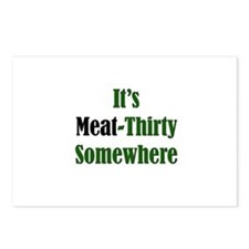It's Meat-Thirty Postcards (Package of 8)