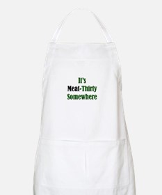 It's Meat-Thirty BBQ Apron