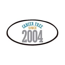 Cancer Free Since 2004 Patches