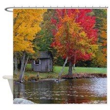 Cold Stream Ponds Country Colors Shower Curtain