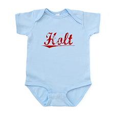 Holt, Vintage Red Infant Bodysuit