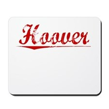 Hoover, Vintage Red Mousepad