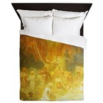 Apotheosis of the Slavs by Mucha Queen Duvet
