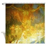 Apotheosis of the Slavs by Mucha Shower Curtain