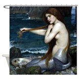 Waterhouse shower curtains Shower Curtains