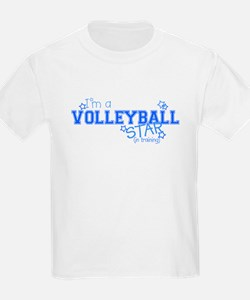 Volleyball star Kids T-Shirt