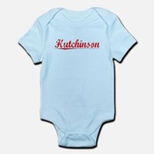 Hutchinson, Vintage Red Infant Bodysuit