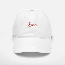 Irvin, Vintage Red Baseball Baseball Cap
