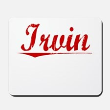 Irvin, Vintage Red Mousepad