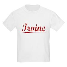 Irvine, Vintage Red T-Shirt