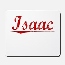 Isaac, Vintage Red Mousepad