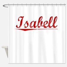Isabell, Vintage Red Shower Curtain