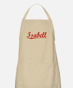 Isabell, Vintage Red Apron