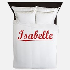 Isabelle, Vintage Red Queen Duvet