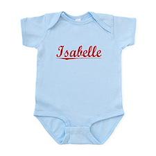 Isabelle, Vintage Red Infant Bodysuit
