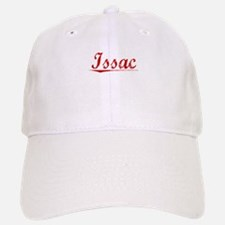 Issac, Vintage Red Baseball Baseball Cap