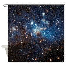 LH95 Stellar Nursery Shower Curtain