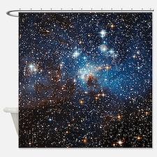 LH95 Stellar Nursery Shower Curtain