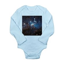 LH95 Stellar Nursery Long Sleeve Infant Bodysuit