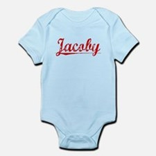 Jacoby, Vintage Red Infant Bodysuit