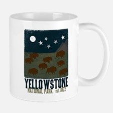Yellowstone Park Night Sky Mug