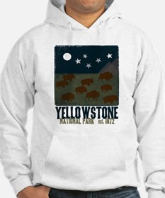 Yellowstone Park Night Sky Hoodie
