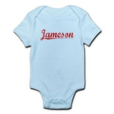 Jameson, Vintage Red Infant Bodysuit
