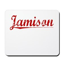Jamison, Vintage Red Mousepad
