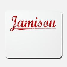 Jamison, Vintage Red Mousepad