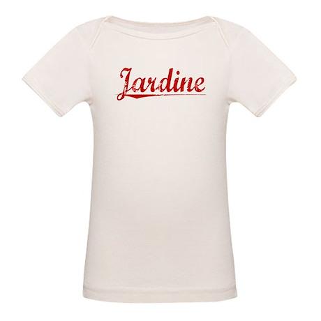 Jardine, Vintage Red Organic Baby T-Shirt