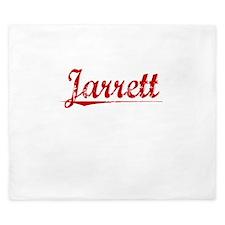 Jarrett, Vintage Red King Duvet