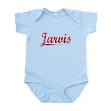 Jarvis, Vintage Red Infant Bodysuit