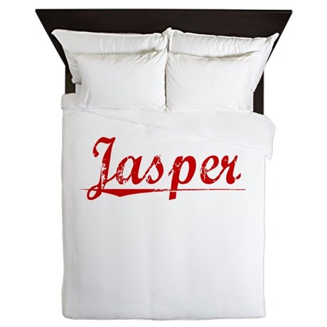 Jasper, Vintage Red Queen Duvet