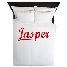 Jasper, Vintage Red Queen Duvet