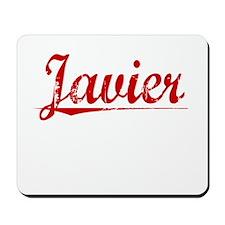 Javier, Vintage Red Mousepad
