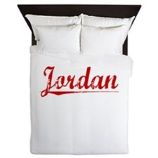 Jordan, Vintage Red Queen Duvet
