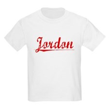 Jordon, Vintage Red T-Shirt