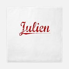 Julien, Vintage Red Queen Duvet