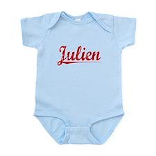 Julien, Vintage Red Infant Bodysuit