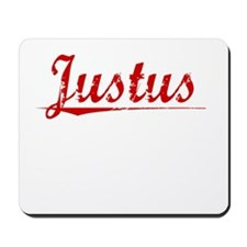 Justus, Vintage Red Mousepad