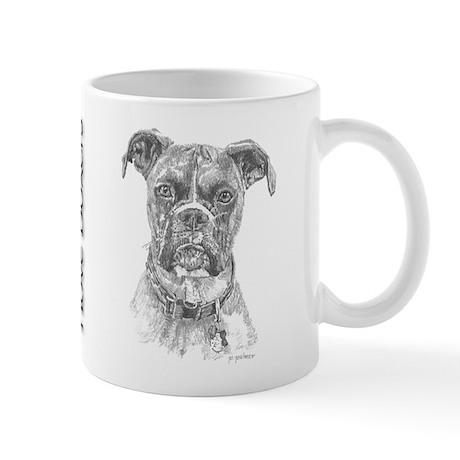 Boxer Portrait Mug
