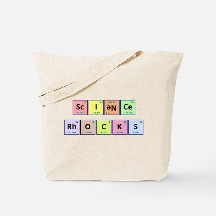 Science Rocks Tote Bag