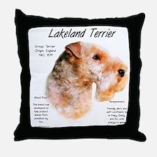 Lakeland Terrier Throw Pillow
