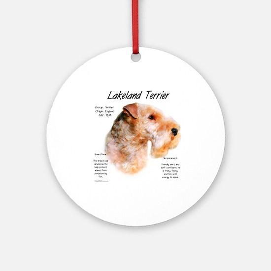 Lakeland Terrier Round Ornament