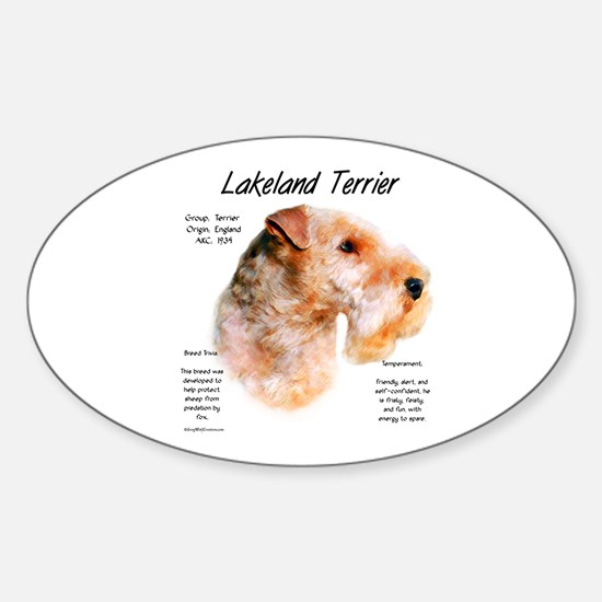 Lakeland Terrier Sticker (Oval)