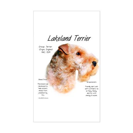 Lakeland Terrier Rectangle Sticker