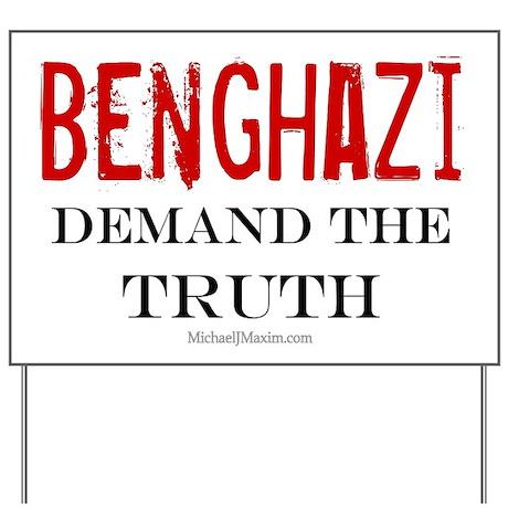 Benghazi Truth Yard Sign