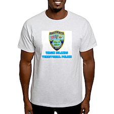 Virgin Islands Police Ash Grey T-Shirt
